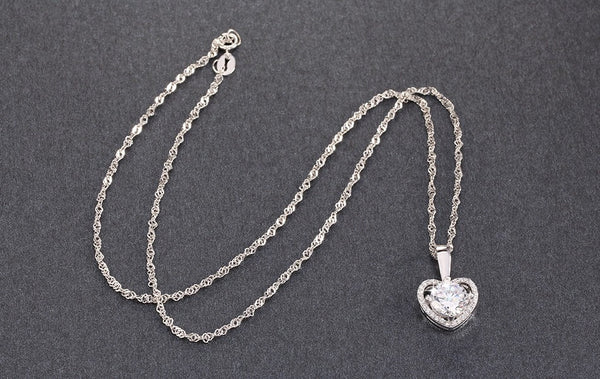 Heart Pendant Necklace - 123 Express Shop - 7