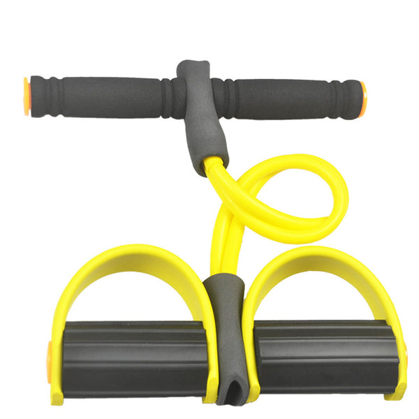 Resistance Bands With Foot Pedal