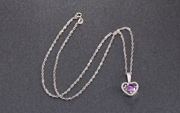 Heart Pendant Necklace - 123 Express Shop - 4