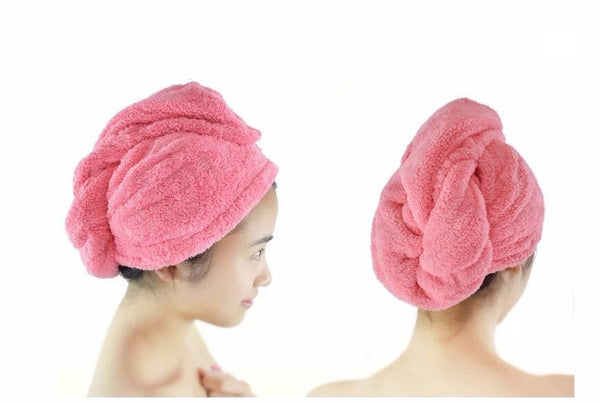 Hair Drying Shower Towel