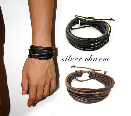 Wrap Leather Bracelet - 123 Express Shop - 1