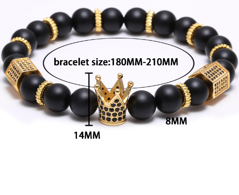 Crown Charm Bracelet - 123 Express Shop - 5