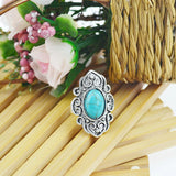 Bohemian Turquoise Ring - 123 Express Shop - 3