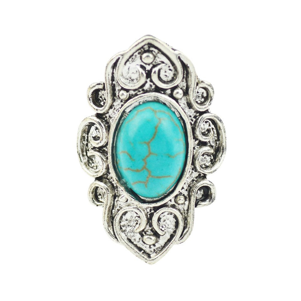 Bohemian Turquoise Ring - 123 Express Shop - 1