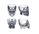 Skull Head Glass