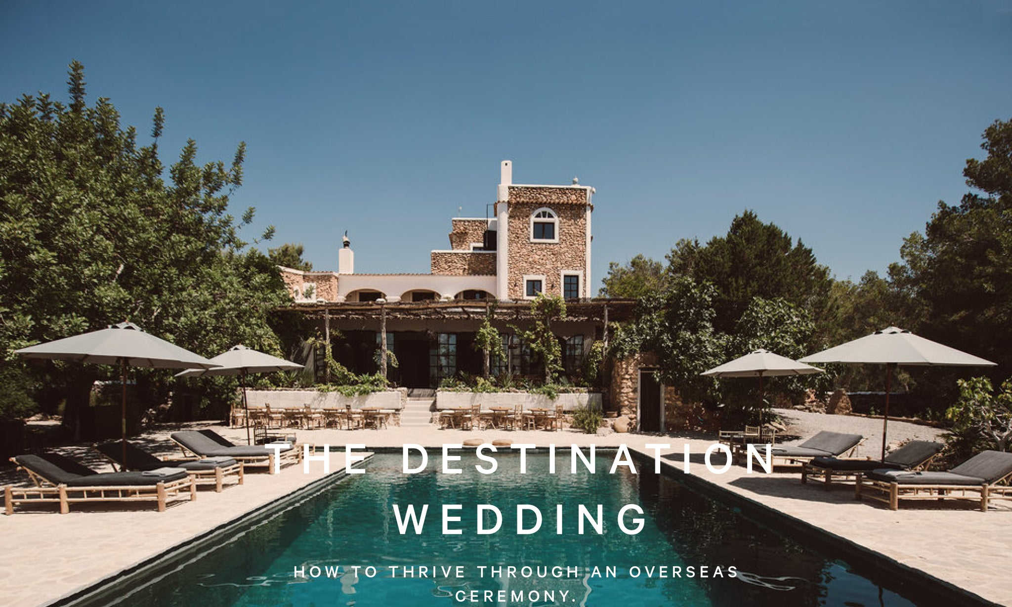 ASCENO TRAVELS: THE DESTINATION WEDDING