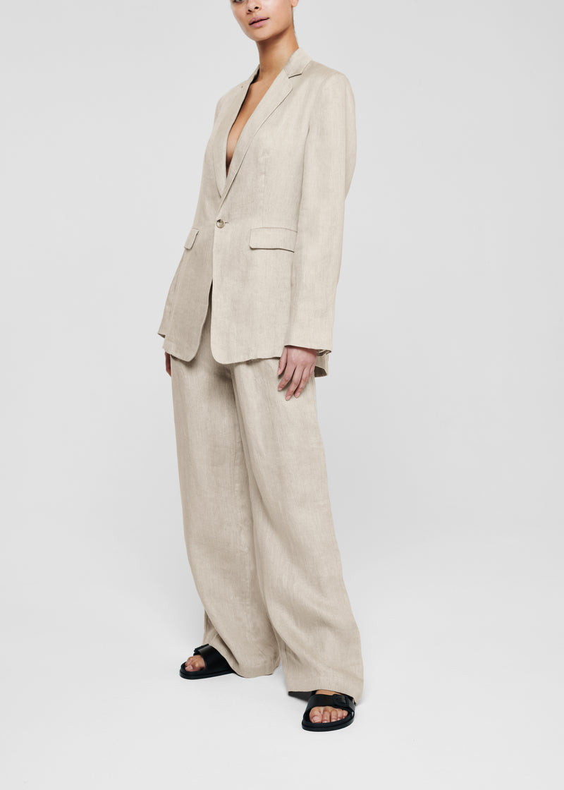Harvest Linen Wide Leg Trouser