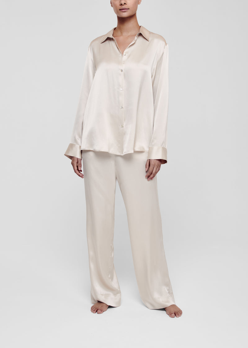 Sand Silk Pyjama Bottom