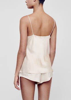 Sand silk sleep shorts