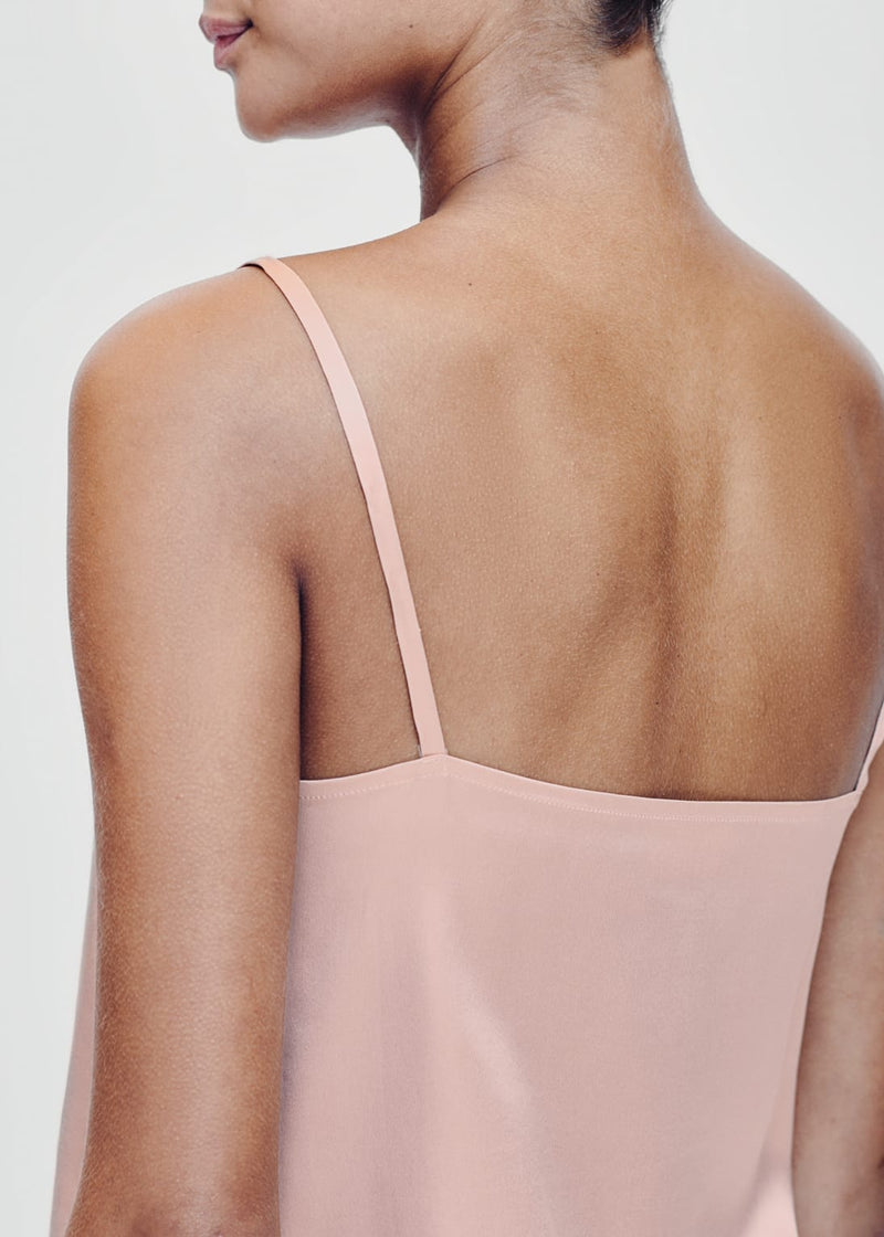 Venice Pale Blush Silk Cami