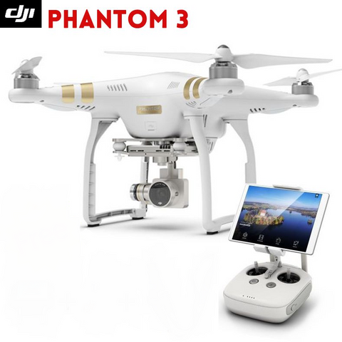 {Phantom 3 Professional with HD Camera & Built in GPS Quadcopter Drone}