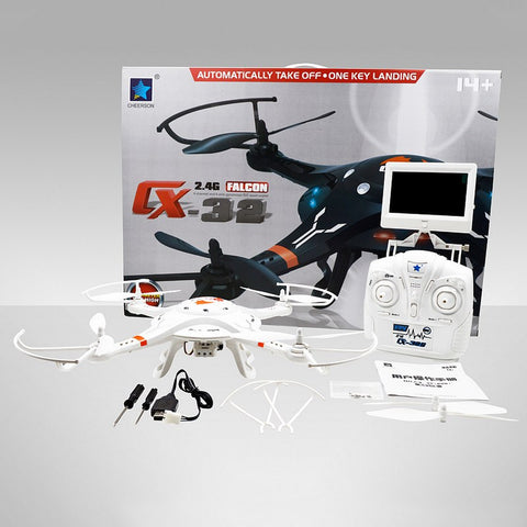 {CX-32 Series With HD Camera Quad-copter Drone}