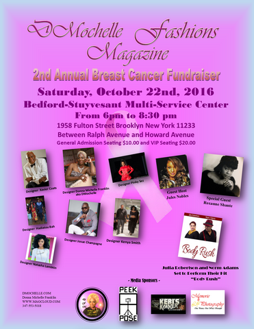 Rebel's Promise at DMochelle Fashions Breast Cancer Fundraiser