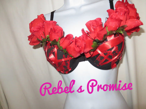 Romance and Moonlight Glam Bra - Rebel's Promise