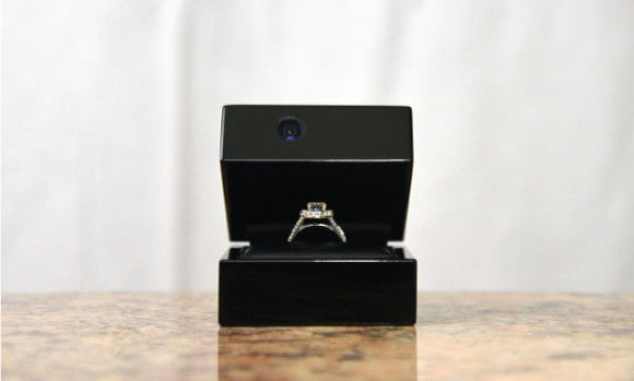 ring box engagement announcement