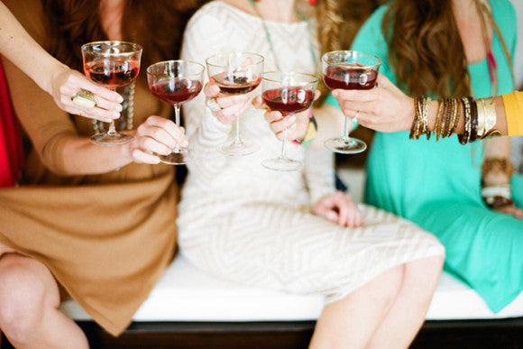 wine tasting at home bachelorette party