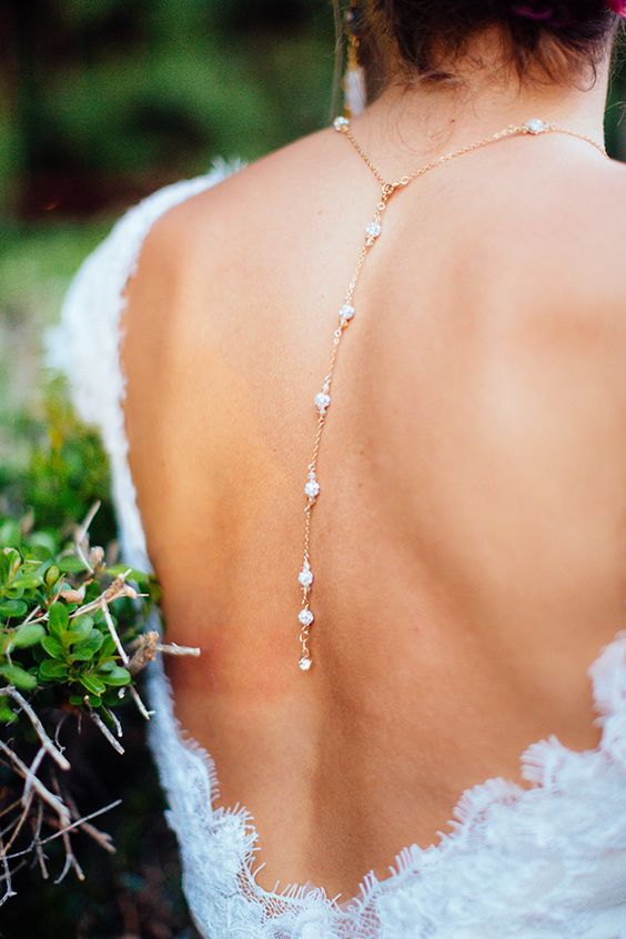 backdrop necklace bridal accessories