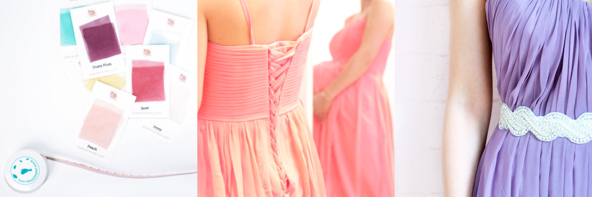 Pastel Dress Party Custom Made Dresses