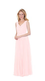 pastel-dress-party-bridesmaid-dresses-chiffon-long-blush
