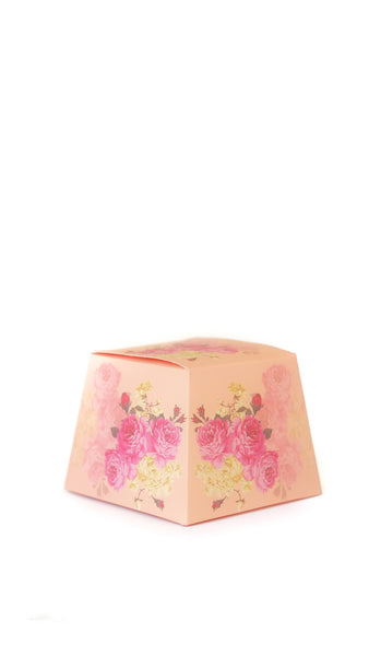 Floral Wedding Favor Gift Box - Pack of 12 - pasteldress