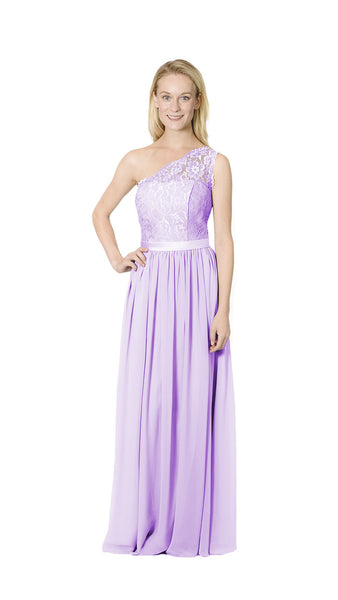 Brianne Lace Bridesmaid Dress - PastelDressParty