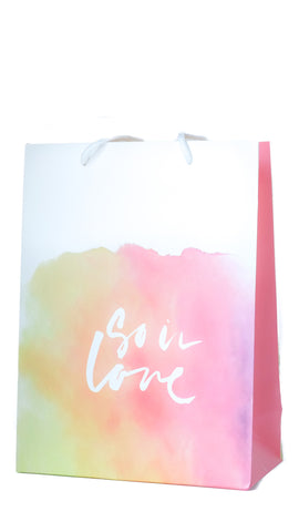 """So In Love"" Gift Bag Large - Pack of 3 - pasteldress"