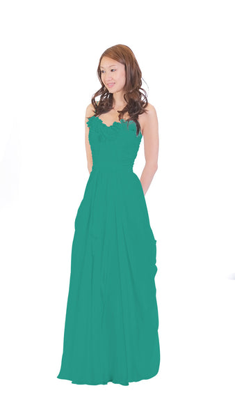 pastel-dress-party-bridesmaid-dresses-teal-chiffon-long
