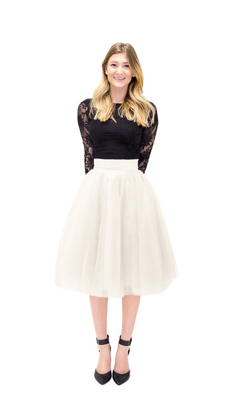 Kimmy Tulle Skirt - pasteldress