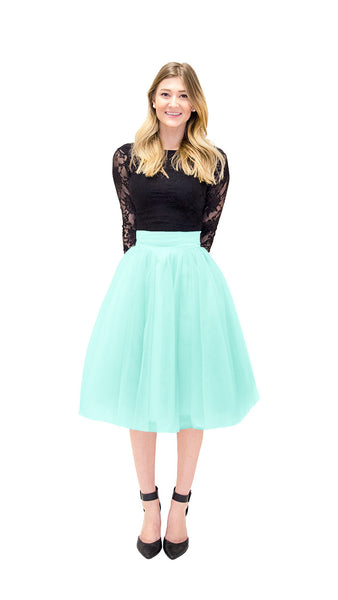 pastel-dress-party-bridesmaid-dresses-tutu-tulle-skirt-fashion-carrie-bradshaw-mint
