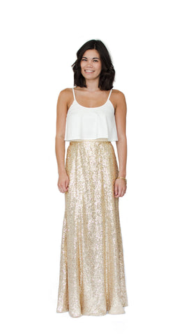 Gigi Sequin Skirt - pasteldress