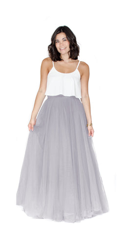 pastel-dress-party-maxi-skirts-tulle-heather-grey