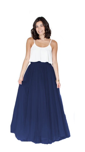 Kimmy Long Tulle Skirt - pasteldress