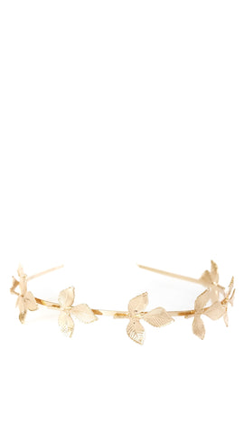 Simple Gold Leaf Headband - pasteldress