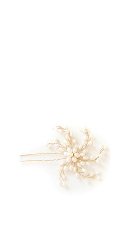 Twisted Pearl Vine Hairpin - pasteldress