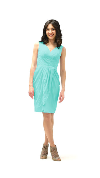 Chloe Chiffon Bridesmaid Dress - pastel dress
