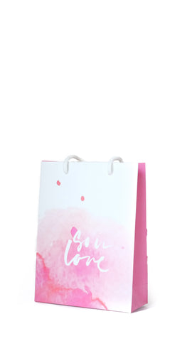 """So In Love"" Gift Bag Medium - Pack of 3 - pasteldress"
