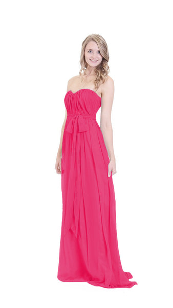 pastel-dress-party-bridesmaid-dresses-magenta-chiffon-long