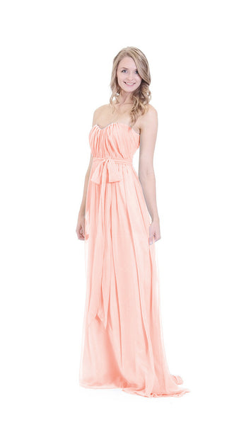 pastel-dress-party-bridesmaid-dresses-peach-chiffon-long