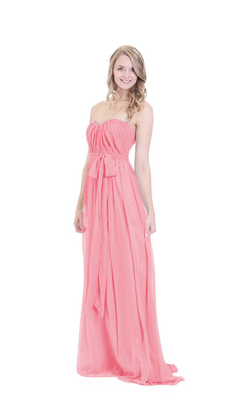 pastel-dress-party-bridesmaid-dresses-salmon-chiffon-long