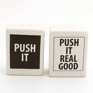 Push It Real Good Salt and Pepper Set