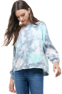 Preorder SPECIAL HAND TIE DYE LONG SLEEVE SWEATER TOP