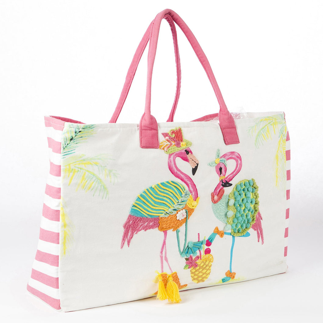 Sassy Flamingos - Tote Bag