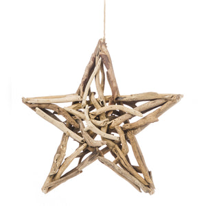 LARGE DRIFTWOOD STAR