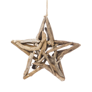 SMALL DRIFTWOOD STAR