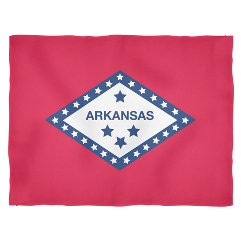 Arkansas Flag Blanket