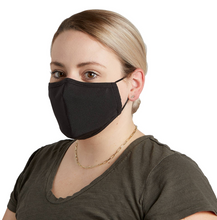 Load image into Gallery viewer, CLOTH FACE MASK  - SOLID BLACK