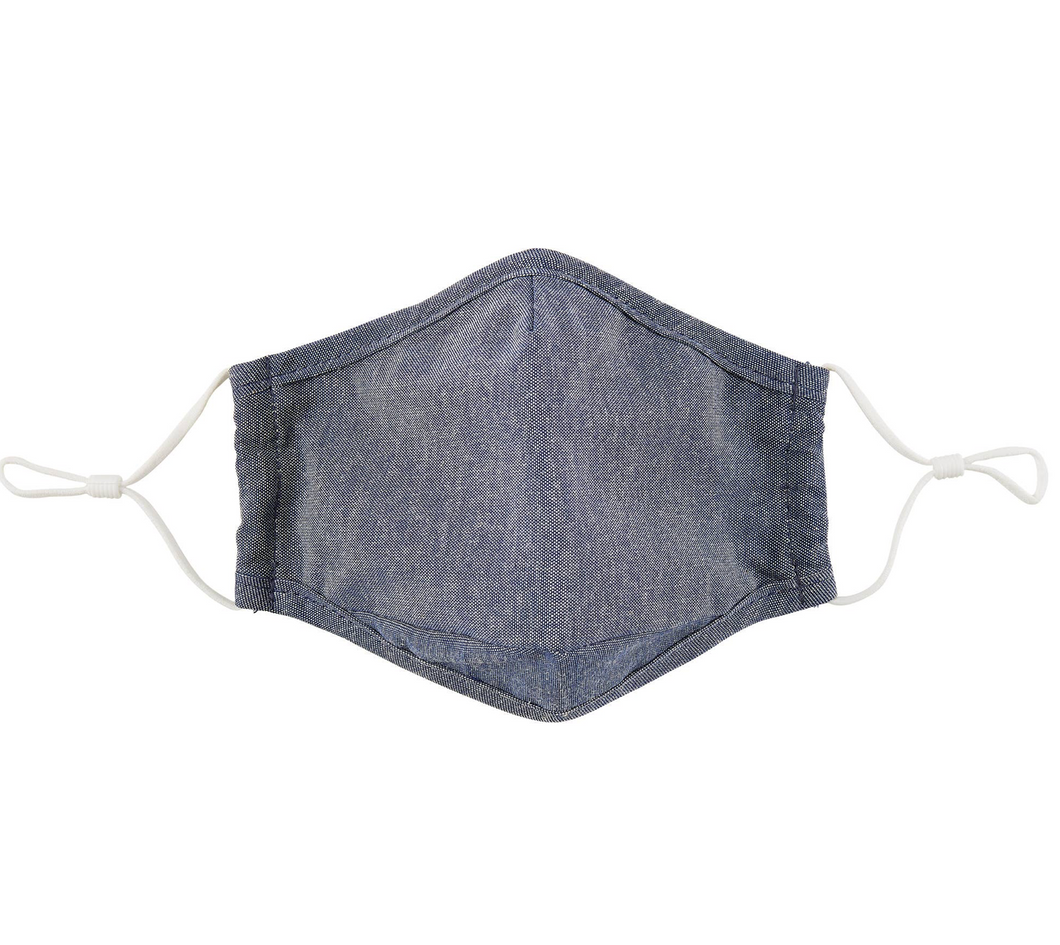 CLOTH FACE MASK DENIM CHAMBRAY