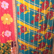 Load image into Gallery viewer, Kantha Vintage Quilts, Room Decor or Tablecloth