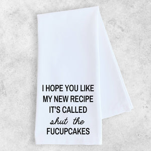 My New Recipe - Tea Towel