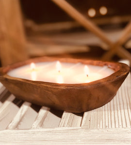 Shoreline  - Dough Bowl Candle - 3 Wick
